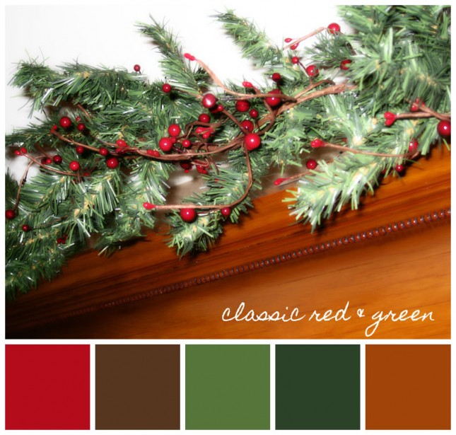 Christmas Color Schemes.Favorite Holiday Color Schemes Rosy Blu