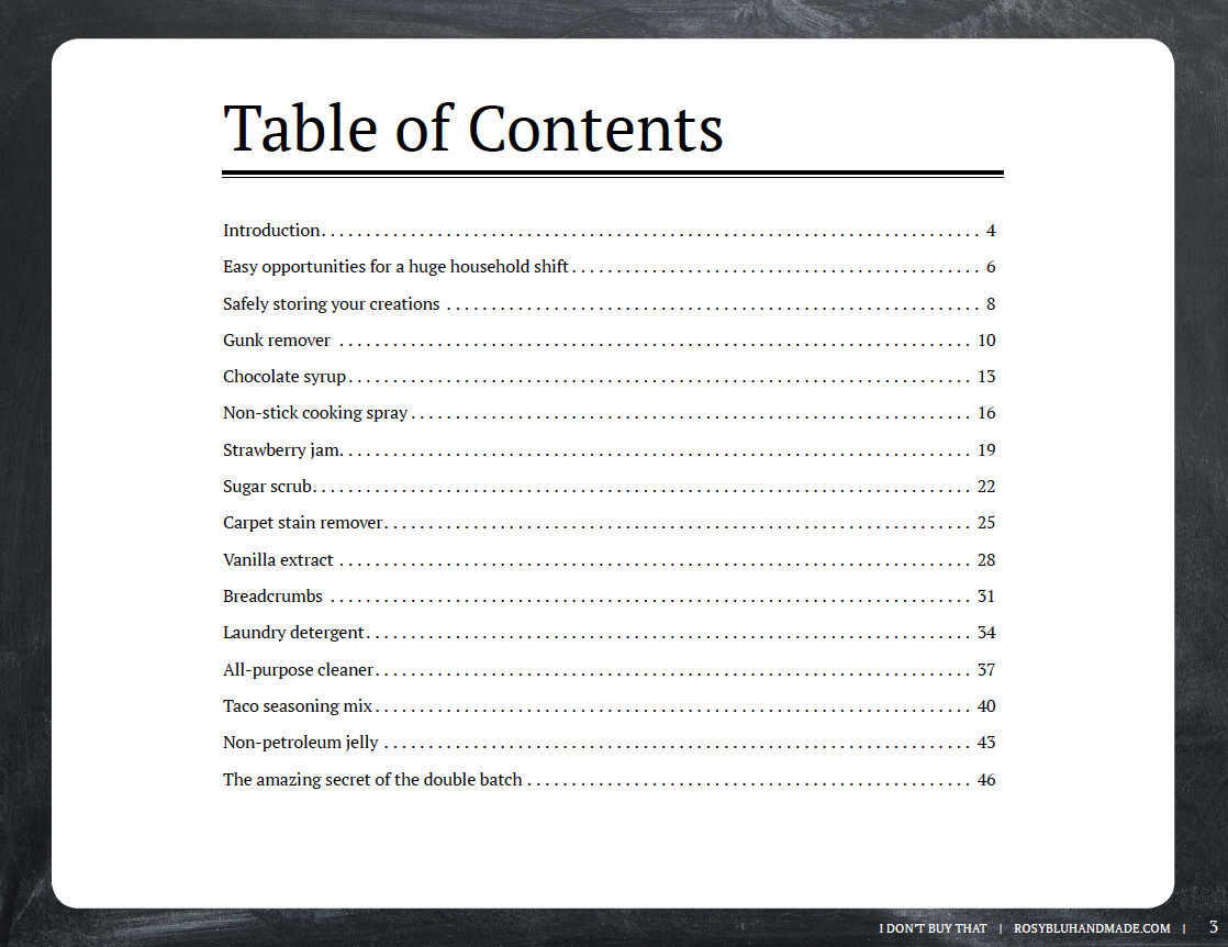 Table of contents example pictures to pin on pinterest for Word 2013 table of contents template